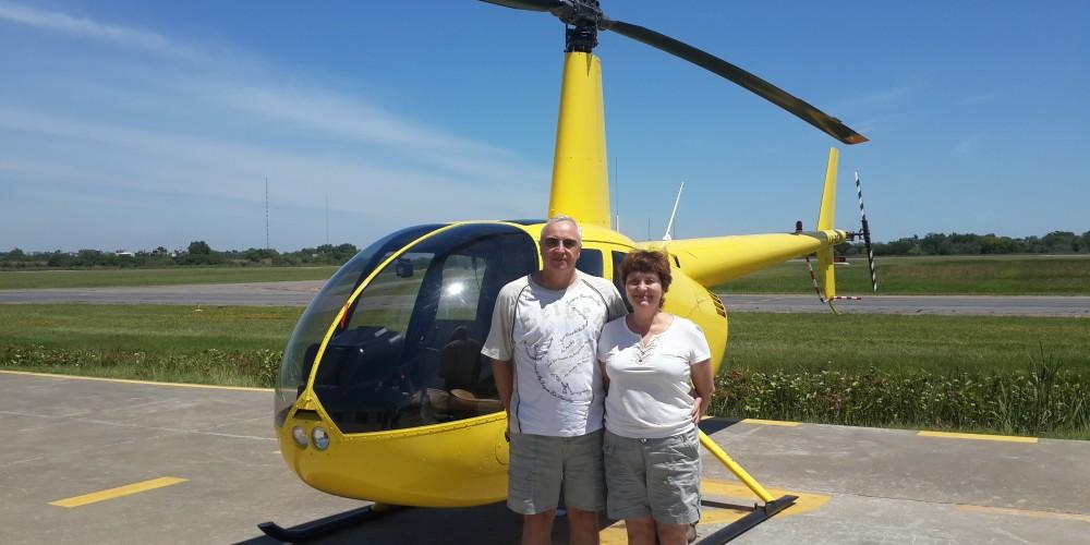 Валентина и Владимир перед полетом