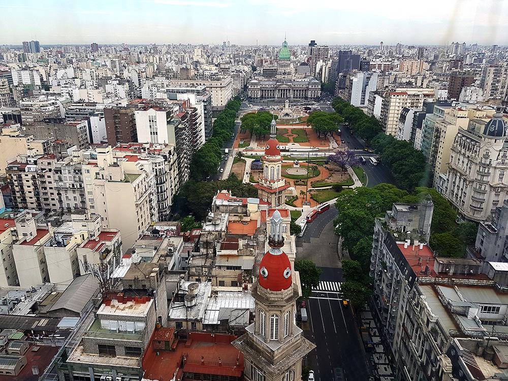 Вид на Буэнос-Айрес