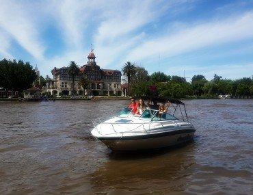 Путешествие на катере в Тигре Дельта
