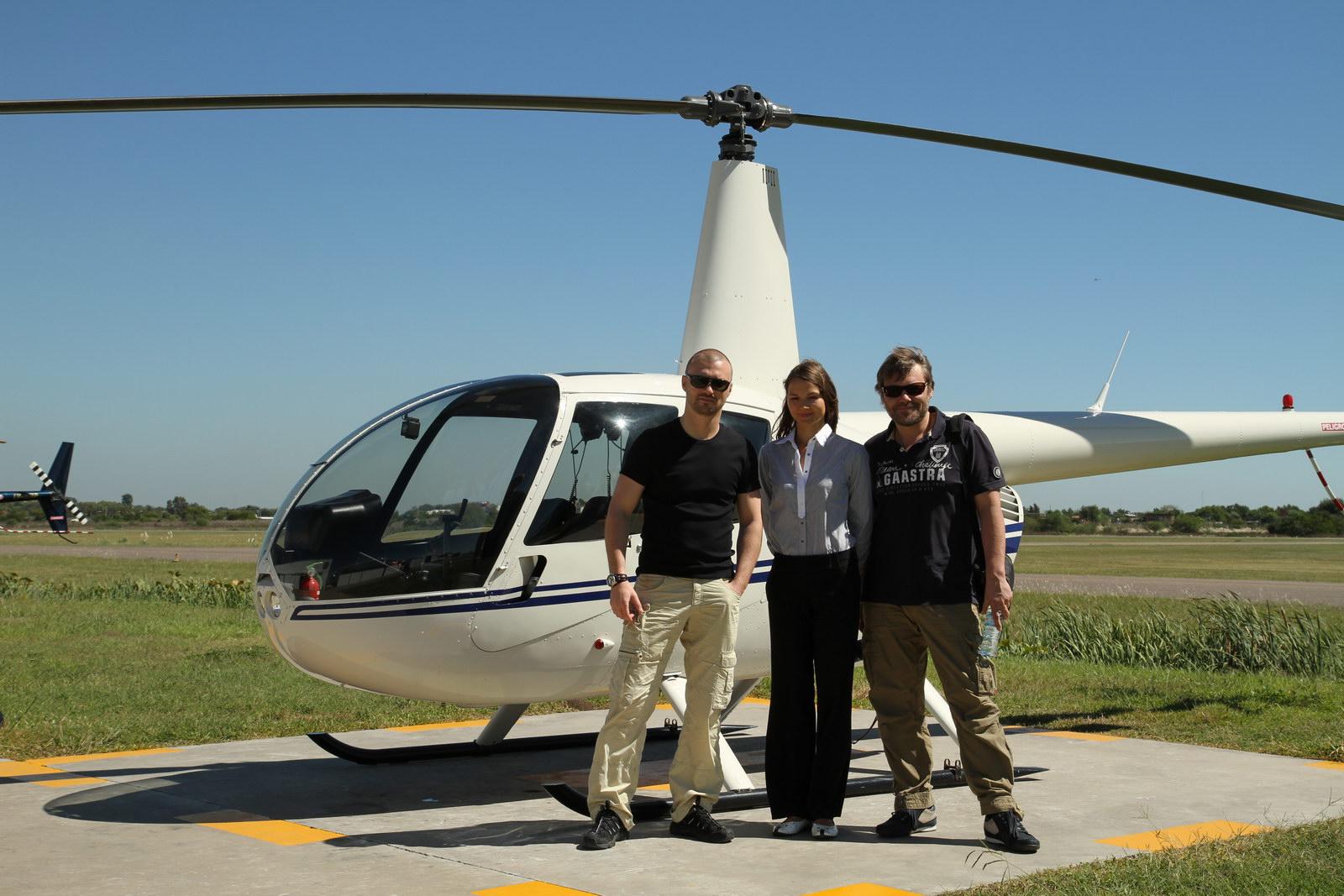 На вертолете над Буэнос-Айресом с русскоязычным гидом