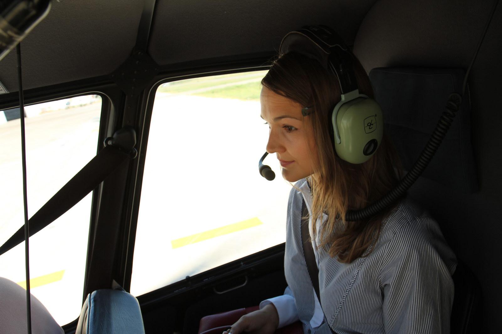 Полет на вертолете с русскоязычным гидом Ксенией Сидрасчи