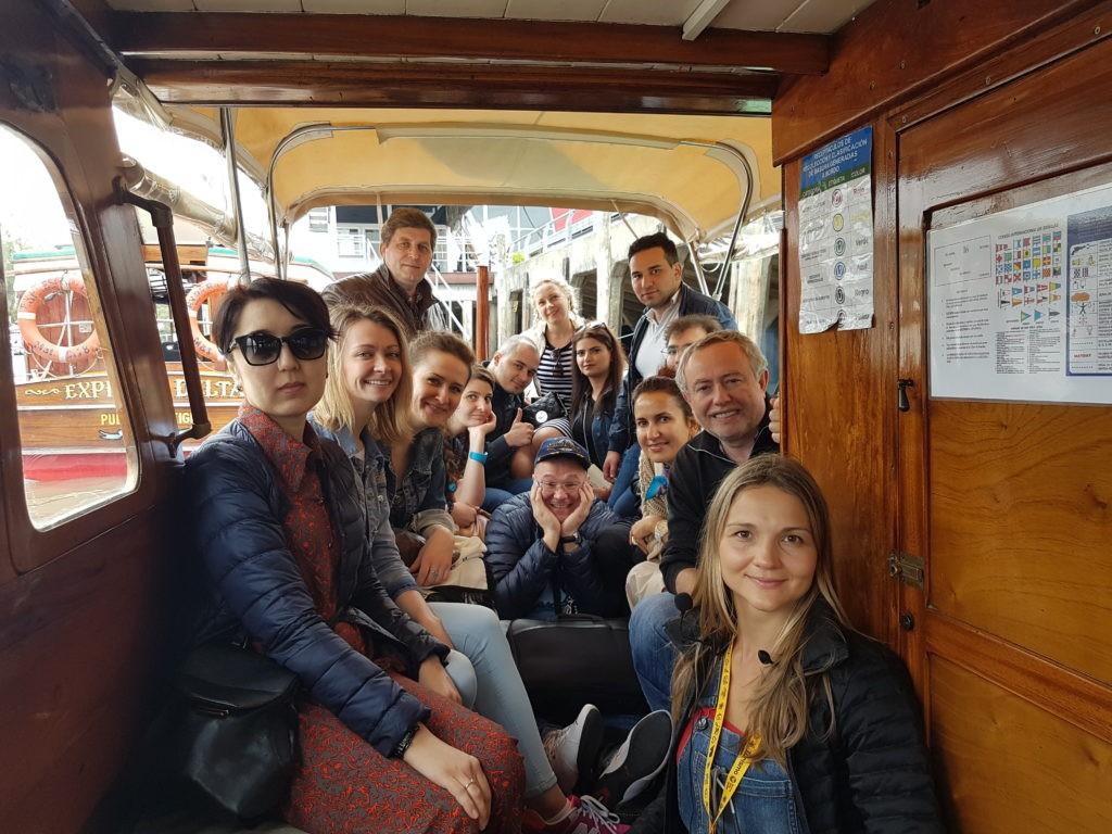 Экскурсия по реке Парана