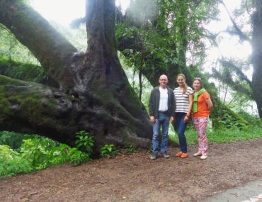 С Марией и Сергеем Кириенко в высокогорных джунглях