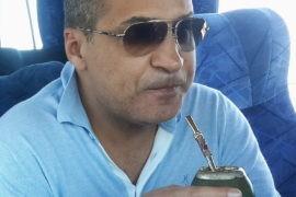 Зияд Манасир дегустирует мате
