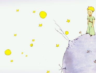 """Страница из книги """"Маленький принц"""""""