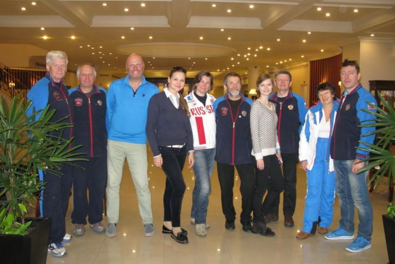 С группой Интерски и певцом Алексеем Кортневым (группа Несчастный Случай)