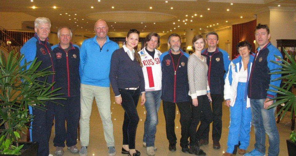 С группой Интерски и певцом Алексеем Кортневым