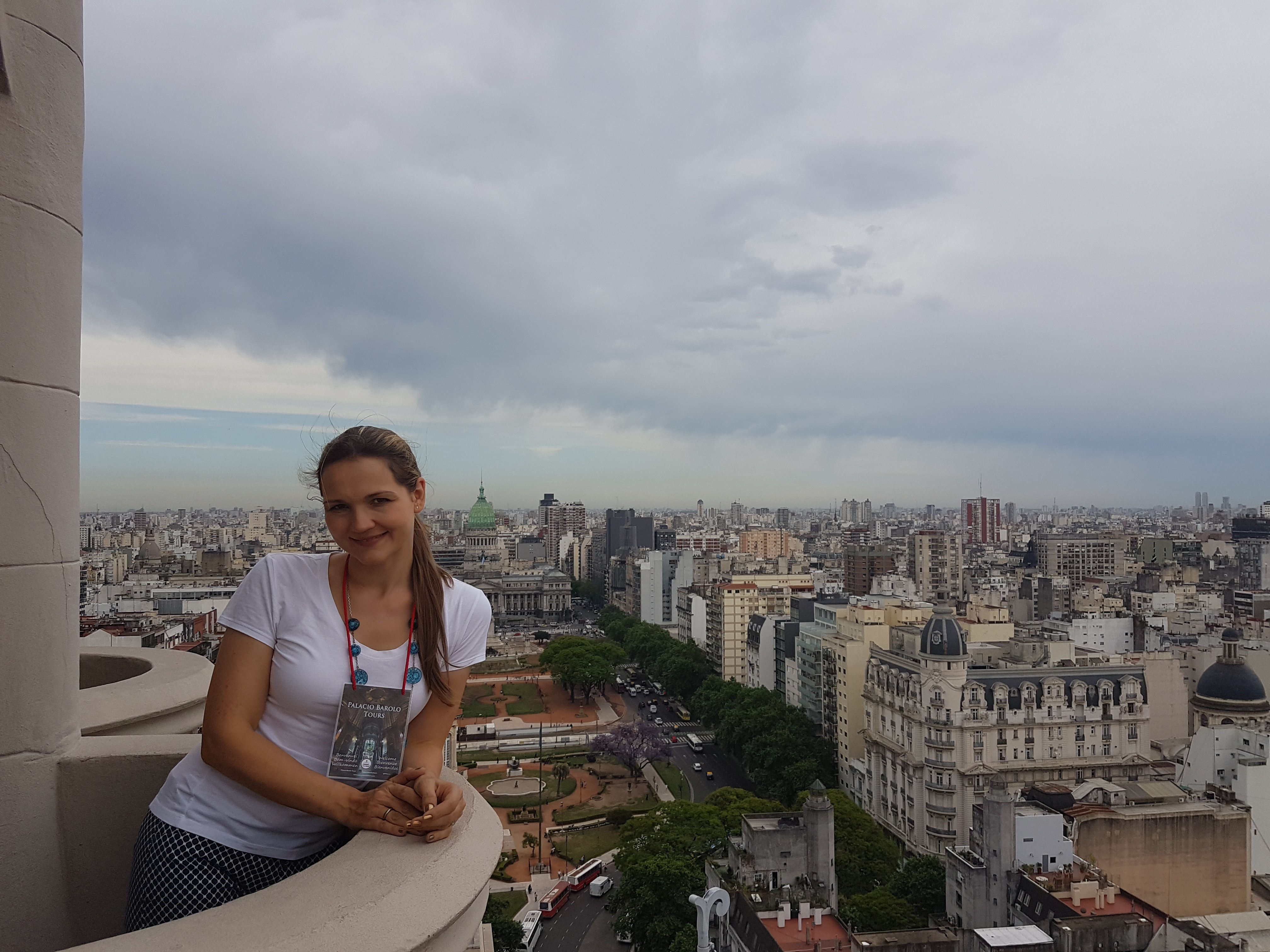 Ксения Сидрасчи - гид в Буэнос-Айресе