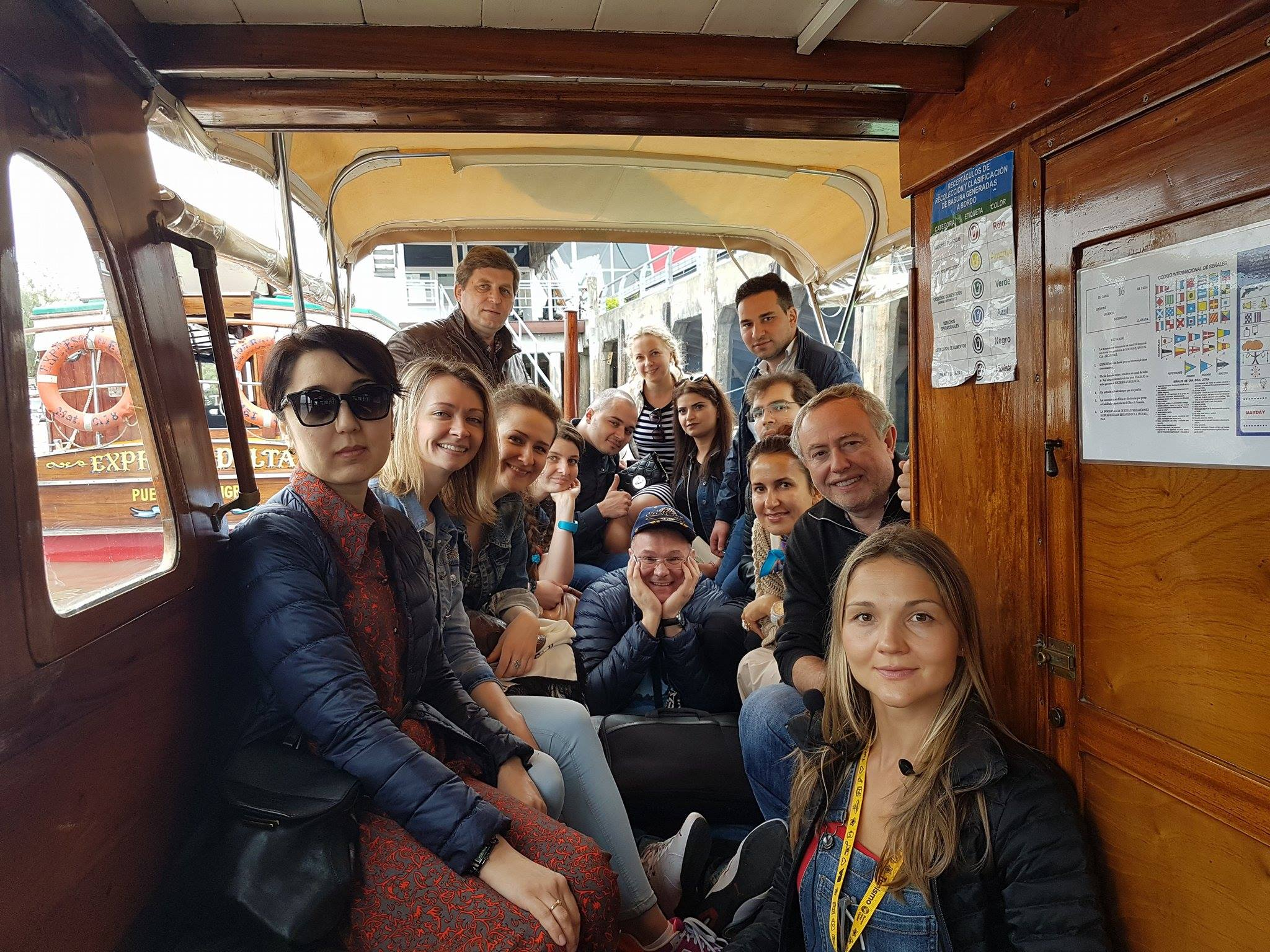 Экскурсия в Тигре Дельтя на деревянной лодке