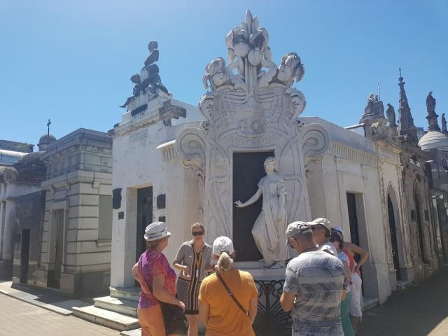 С туристами