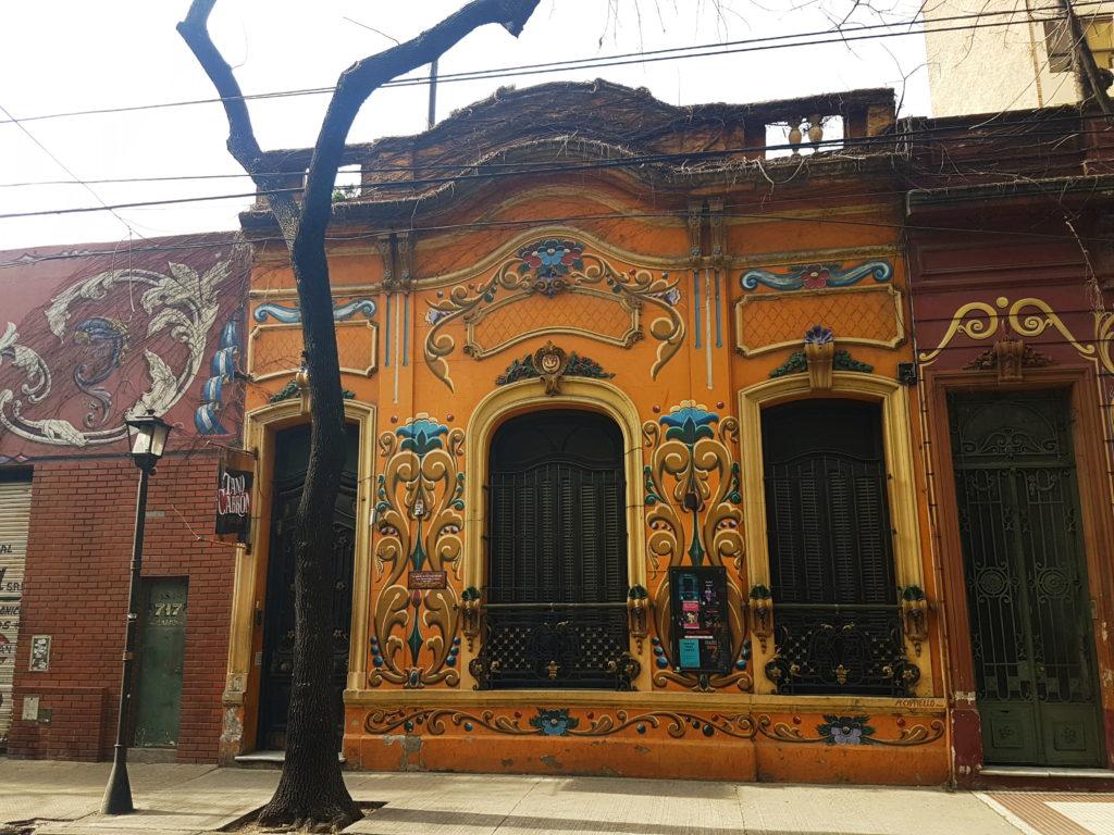 Дома в районе Абасто