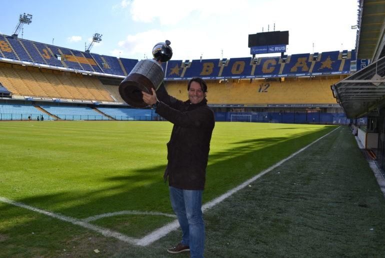 Стадион клуба Бока Джуниорс - главного чемпиона Аргентины
